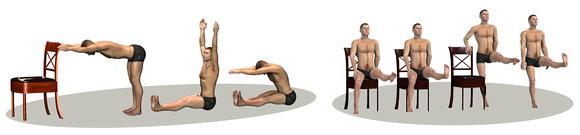 Back & Knee exercises
